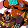 Transformers Animated Rodimus Ironhide
