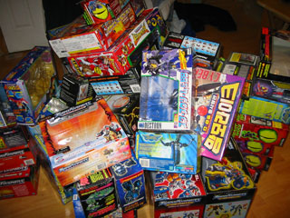 Transformers Boxes