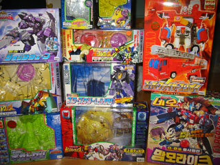 Asian Transformers Boxes