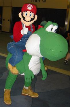 Fan Expo Mario