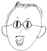 Me drawn by a kid