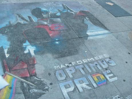 Manformers: Optimus Pride