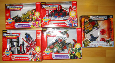 More Transformers