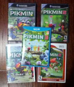 Pikmin games