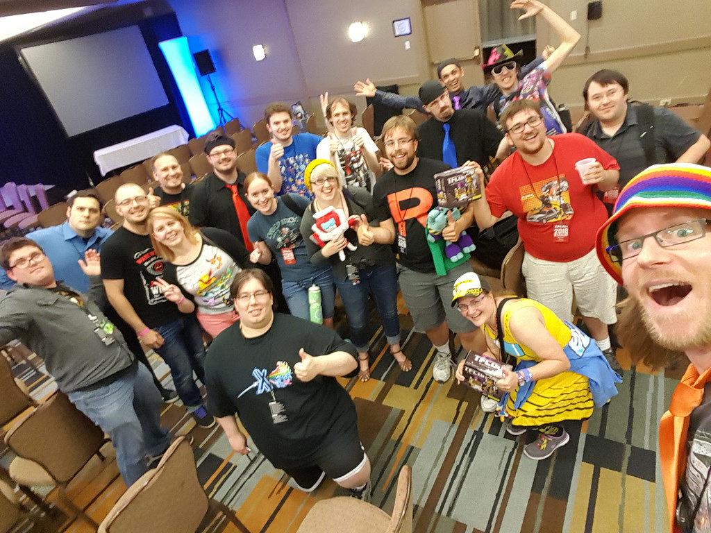 The TFcon crew!