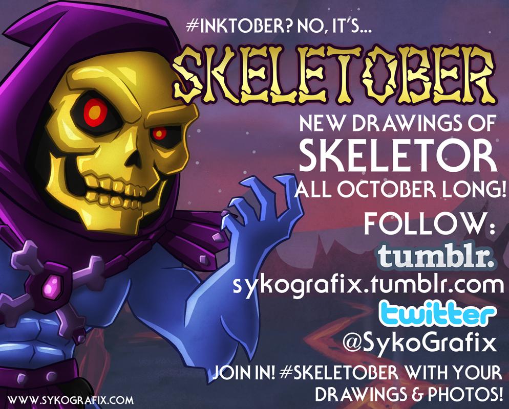 skeletober