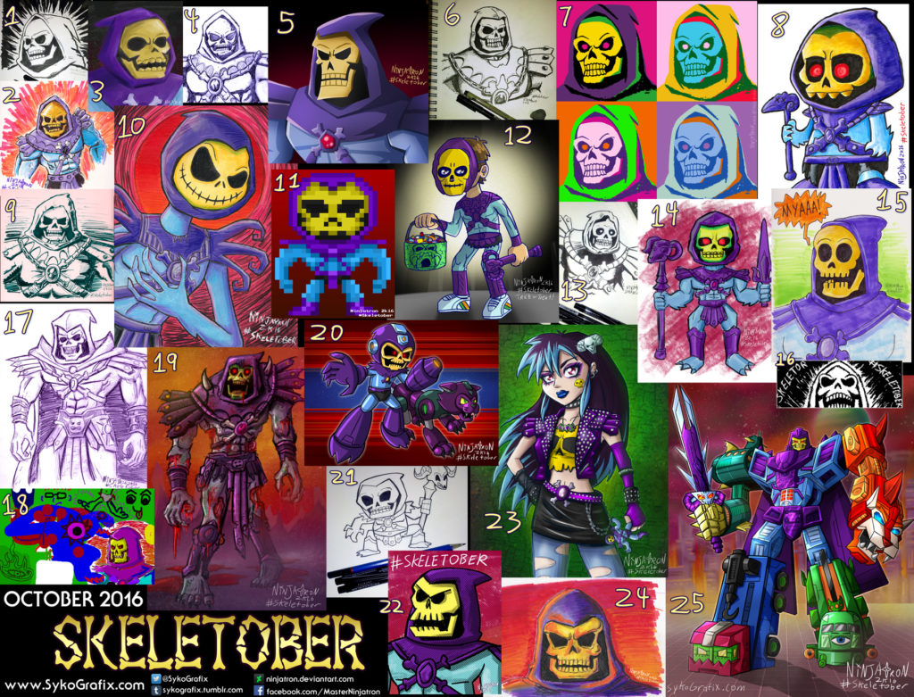 Skeletober complete