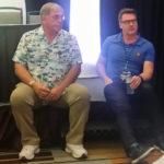 Garry Chalk and David Kaye